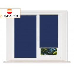 Миникассетные рулонные шторы Мини. Аргентум синий