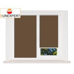 Миникассетные рулонные шторы Мини. Лусто коричневый