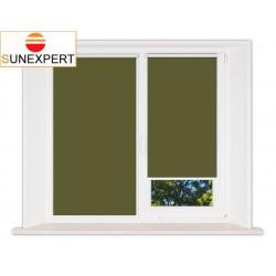 Миникассетные рулонные шторы Мини. Лусто темно-зеленый