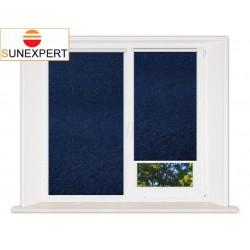 Миникассетные рулонные шторы Мини. Шелк синий