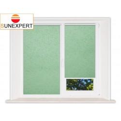 Миникассетные рулонные шторы Мини. Шелк светло-зеленый