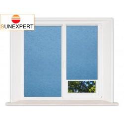 Миникассетные рулонные шторы Мини. Шелк голубой