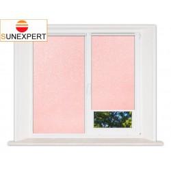 Миникассетные рулонные шторы Мини. Шелк розовый