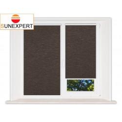 Миникассетные рулонные шторы Мини. Ямайка коричневый
