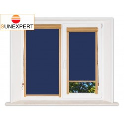 Миникассетные рулонные шторы Уни-1. Аргентум синий