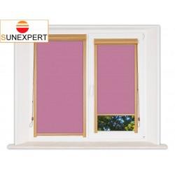 Миникассетные рулонные шторы Уни-1. Аргентум фиолетовый