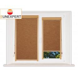 Миникассетные рулонные шторы Уни-1. Аруба коричневый