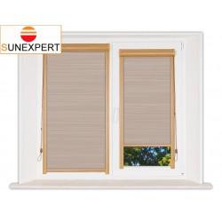 Миникассетные рулонные шторы Уни-1. Балтик коричневый