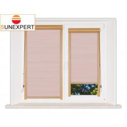 Миникассетные рулонные шторы Уни-1. Балтик розовый
