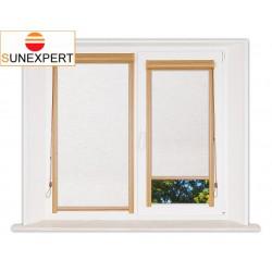 Миникассетные рулонные шторы Уни-1. Сахара белый