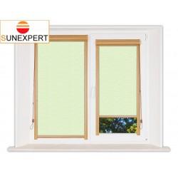 Миникассетные рулонные шторы Уни-1. Флора салатовый