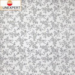 Миникассетные рулонные шторы Уни-1. Китайская роза черный