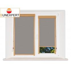 Миникассетные рулонные шторы Уни-1. Лусто серый