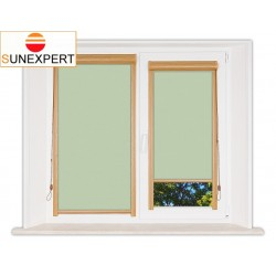 Миникассетные рулонные шторы Уни-1. Лусто светло-зеленый