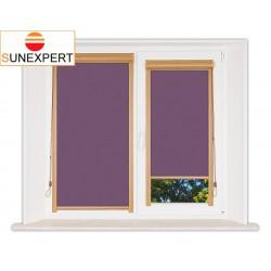 Миникассетные рулонные шторы Уни-1. Лусто фиолетовый