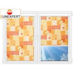 Миникассетные рулонные шторы Уни-1. Тонус оранж