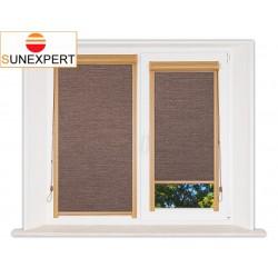 Миникассетные рулонные шторы Уни-1. Валенсия коричневый