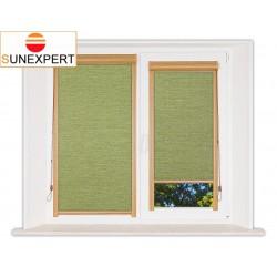 Миникассетные рулонные шторы Уни-1. Валенсия зеленый