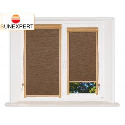 Миникассетные рулонные шторы Уни-1. Ямайка кофе
