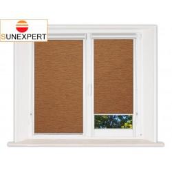 Миникассетные рулонные шторы Уни-2. Аруба коричневый