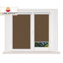 Миникассетные рулонные шторы Уни-2. Лусто коричневый