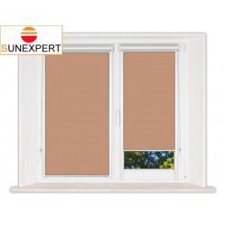 Миникассетные рулонные шторы Уни-2. Металлик светло-коричневый