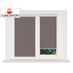Миникассетные рулонные шторы Уни-2. Металлик темно-коричневый
