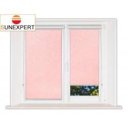 Миникассетные рулонные шторы Уни-2. Шелк розовый
