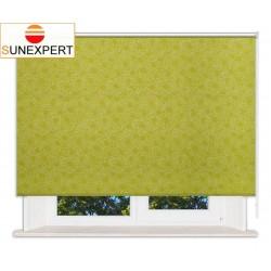 Рулонные шторы Стандарт. Индра салатовый