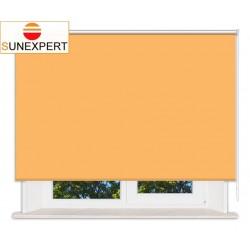 Рулонные шторы Стандарт. Мадагаскар оранжевый