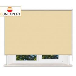 Рулонные шторы Стандарт. Металлик желтый