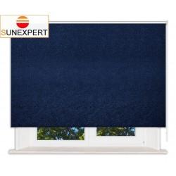 Рулонные шторы Стандарт. Шелк синий