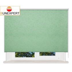 Рулонные шторы Стандарт. Шелк светло-зеленый