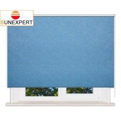 Рулонные шторы Стандарт. Шелк голубой