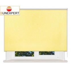 Рулонные шторы Стандарт. Шелк желтый