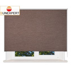 Рулонные шторы Стандарт. Валенсия коричневый