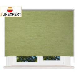 Рулонные шторы Стандарт. Валенсия зеленый