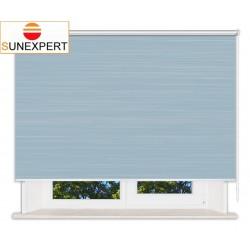 Рулонные шторы Люкс. Балтик голубой