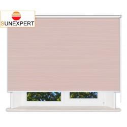 Рулонные шторы Люкс. Балтик розовый
