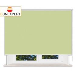 Рулонные шторы Люкс. Лусто салатовый