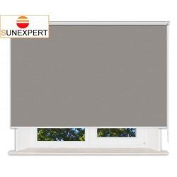 Рулонные шторы Люкс. Лусто серый