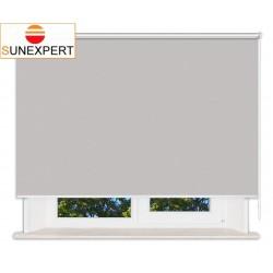 Рулонные шторы Люкс. Лусто светло-серый