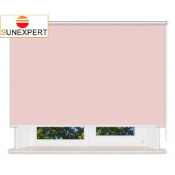Рулонные шторы Люкс. Лусто светло-розовый