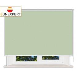 Рулонные шторы Люкс. Лусто светло-зеленый