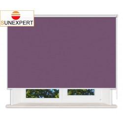 Рулонные шторы Люкс. Лусто фиолетовый