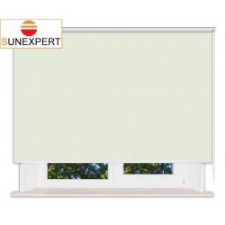 Рулонные шторы Люкс. Мадагаскар светло-зеленый