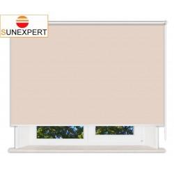 Рулонные шторы Люкс. Металлик персиковый