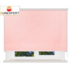 Рулонные шторы Люкс. Шелк розовый