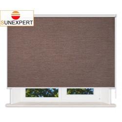 Рулонные шторы Люкс. Валенсия коричневый
