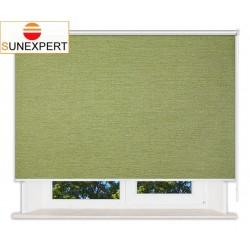 Рулонные шторы Люкс. Валенсия зеленый
